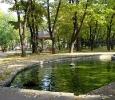 park sa jezercetom u Niškoj Banji